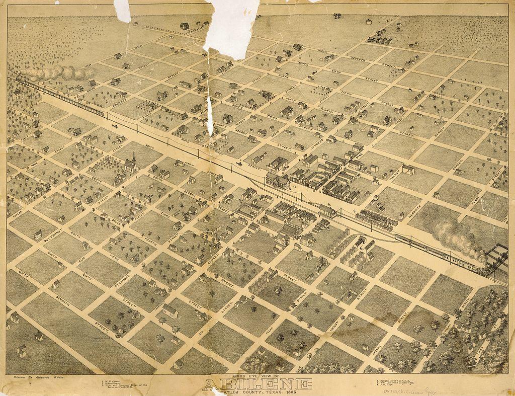 Abilene Texas 1883