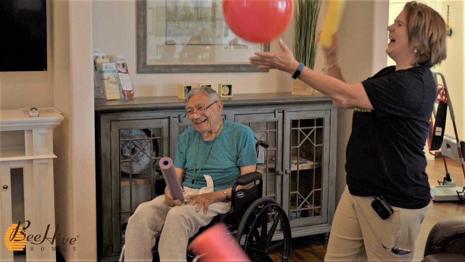 Balloon Exercise Activities