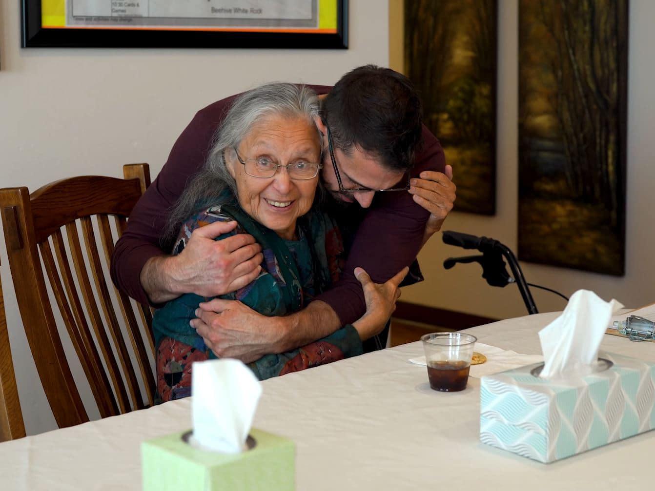 Assisted Living Hug